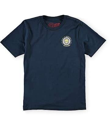Spitfire KTUL Boys Navy T-Shirt