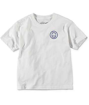Spitfire Retro Class White Boys T-Shirt