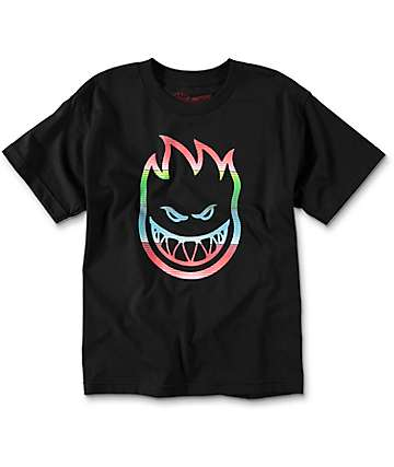 Spitfire Serape Black Boys T-Shirt