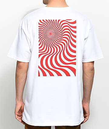 Spitfire Swirl Box White T-Shirt