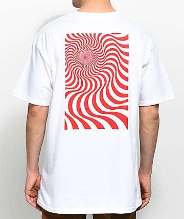 Spitfire Swirl Box camiseta blanca