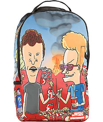 Sprayground Beavis & Butthead Couch Backpack