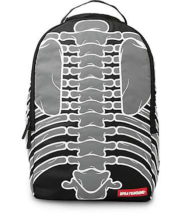 Sprayground Cut and Sew Reflective Bones Backpack