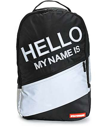 Sprayground Hello Reflective Backpack