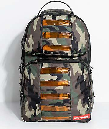 Sprayground Trooper LED Camo Backpack