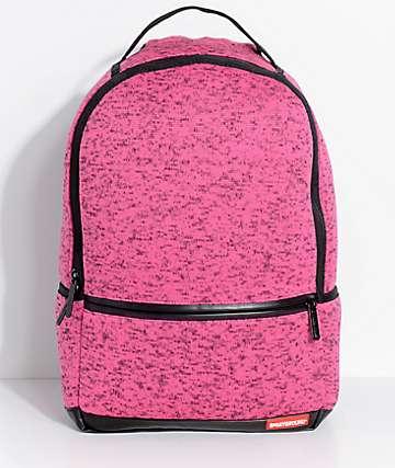 Sprayground mochila tejida en rosa