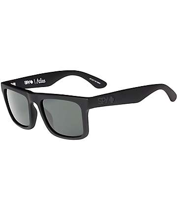 Spy Atlas Soft Matte Black Happy Lens Sunglasses