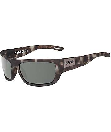 Spy Dega Soft Matte Smoke Tortoise Happy Lens Sunglasses