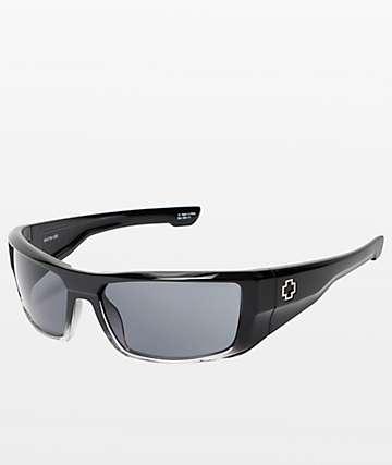 Spy Dirk gafas de sol en negro desteñido y gris