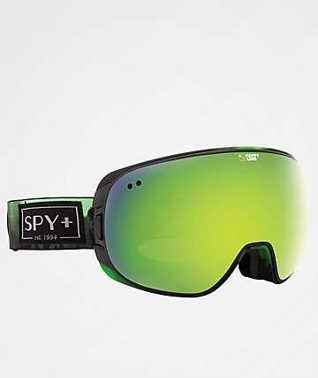Spy Doom Aurora Green Spectra Snowboard Goggles