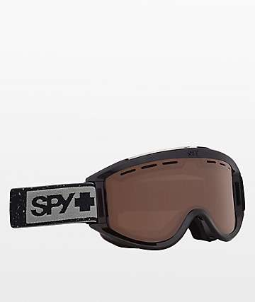 Spy Getaway Black Heather Bronze Snowboard Goggles