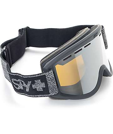 Spy Getaway Black Heather Snow Goggles