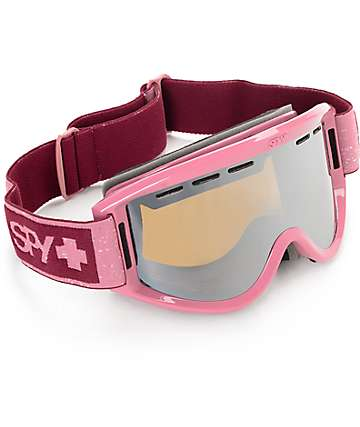 Spy Getaway Plum Heather Snowboard Goggles