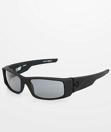Spy Hielo Happy Lens gafas de sol polarizadas en negro mate