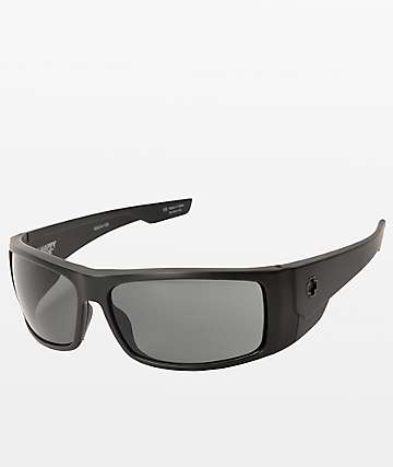 Spy Konvoy Matte Black Sunglasses