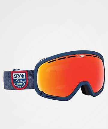 Spy Marshall Colorado Red Spectra Snowboard Goggles