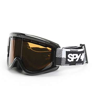 Spy Targa Buff Plaid Snowboard Goggles
