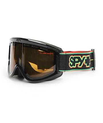 Spy Targa Rasta Stripes Snowboard Goggles