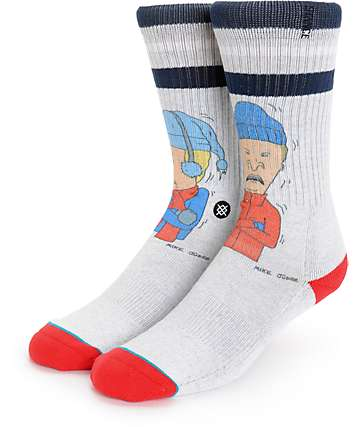 Stance Beavis And Butt-Head Snot Sickle Socks