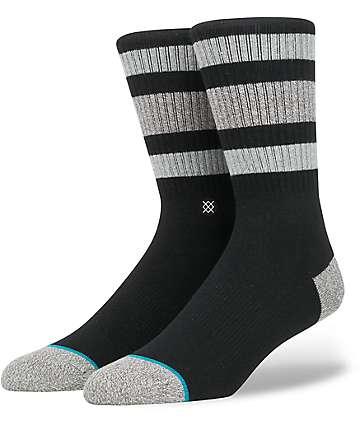 Stance Boyd 3 Black Crew Socks