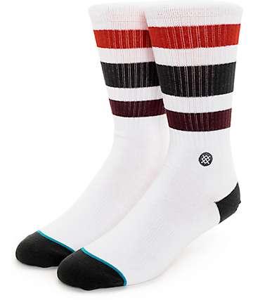 Stance Boyd 3 Burgundy Crew Socks