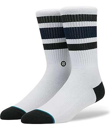 Stance Boyd 3 White Crew Socks