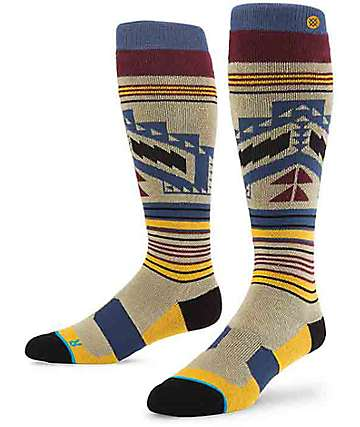 Stance Broken Arrow V2 Grey Snow Socks