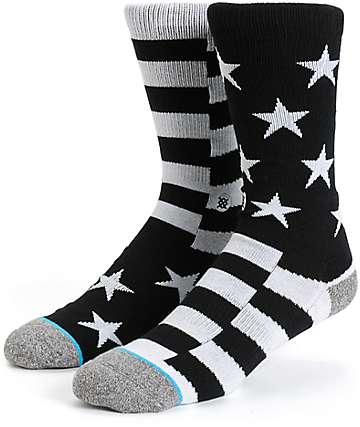 Stance Bunker Stars & Stripes Crew Socks