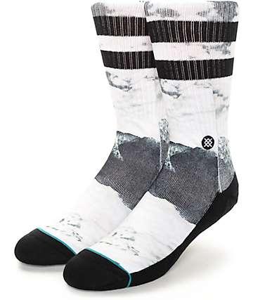 Stance Cirrus Marble Print Crew Socks