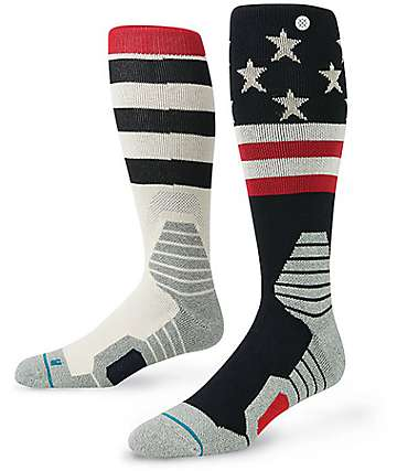 Stance Clawhammer American Flag Print Snow Socks