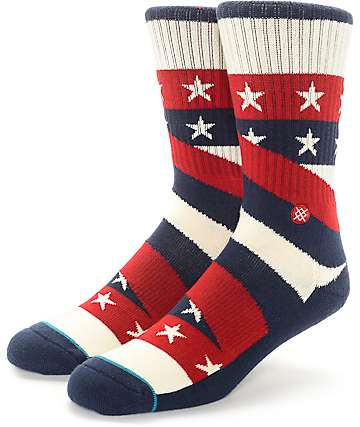 Stance Contender Americana Crew Socks
