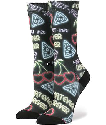 Stance Cooties Black Crew Socks