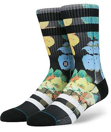 Stance Corsage Black Crew Socks