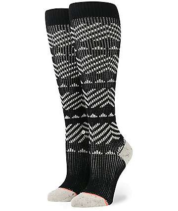 Stance Del Valle Tall Boot Black Socks