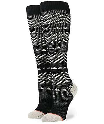Stance Del Valle Tall Boot Black Socks