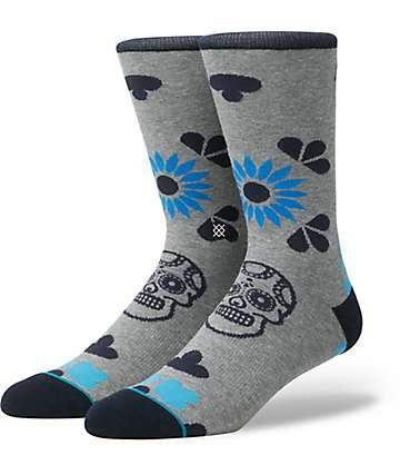 Stance Dia Grey Crew Socks