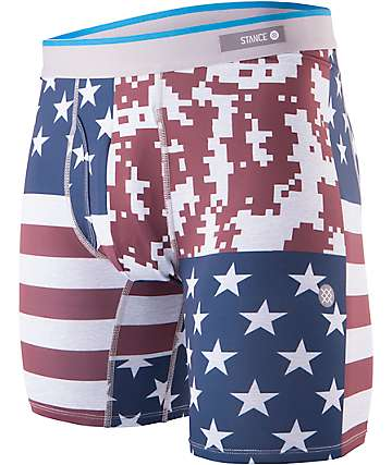 Stance Digi Camo Flag Boxer Brief