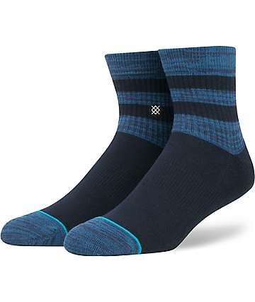 Stance Domain Mid Navy Crew Socks