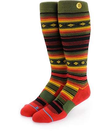 Stance Foggy Rasta Tribal Snowboard Socks