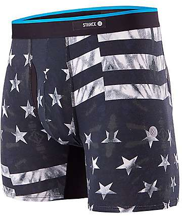 Stance Fourth Basilone Black Boxer Briefs