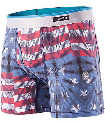Stance Fourth Red, White & Blue Boys Boxer Briefs