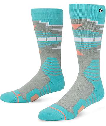 Stance Fox Creek Blue Snowboard Socks