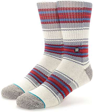 Stance Gaviotas Natural Crew Socks