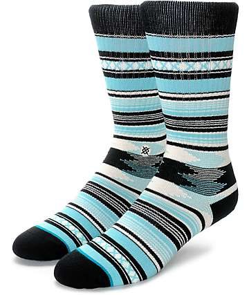 Stance Guadalupe Blue Crew Socks
