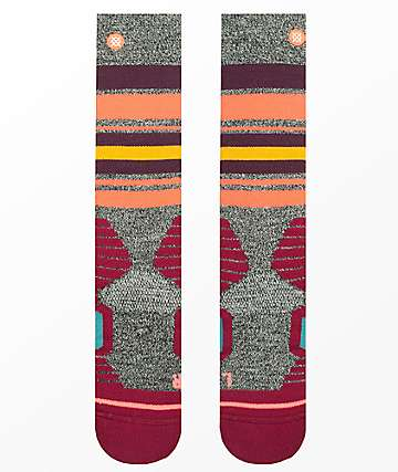 Stance Hot Creek Wine Snowboard Socks
