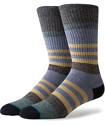 Stance Indicator Blue Crew Socks