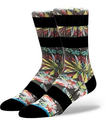 Stance Kamea Floral Print Crew Socks