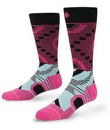 Stance Keetley Pink Snowboard Socks
