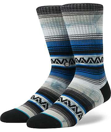 Stance Mexi Navy Tie Dye Crew Socks