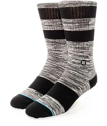 Stance Mission Charcoal Crew Socks